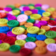 Colorful Buttons - Stock Photo