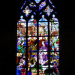 colorful church windows — Stock Photo #16254763