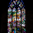 Colorful Church Windows - Stock Photo
