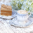 Coffe and Cake — Photo