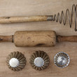 Vintage Cooking Utensils — Stock Photo