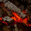 Stock Photo: Embers