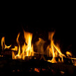 Fireplace - Foto de Stock