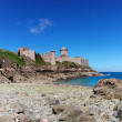 Fort La Latte near Cap Frehel — Stock Photo