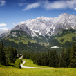 Hochkoenig Mountain Range — Stock Photo