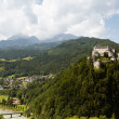 castle hohenwerfen — Stock Photo #16255537
