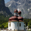 St. Bartholomae at the Koenigssee — Stock Photo #16255695