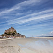 Mont Saint Michel - Stock Photo