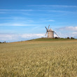 Windmill in Normandy — Stock Photo