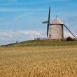 Windmill in Normandy - Stock Photo