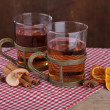 Spiced Fruit Tea - Stock Photo