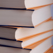 Stack of hardcover books — Foto Stock