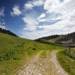 Hochkoenig Mountain Area - Stockfoto