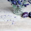 Lavender and Plum - Stock Photo