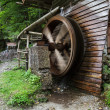 Spinning Mill Wheel - Stock Photo