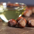 Hazelnut Oil — Stock Photo