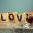 Toasted Love — Foto de Stock