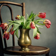 Withered Tulips — Stock Photo