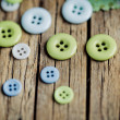 Pastel Colored Buttons — Stock Photo