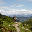 Hiking in the Alps — Stock Photo #30368199