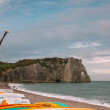Beach of Etretat — Stockfoto