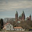Cathedral at Speyer Germany — Stok fotoğraf