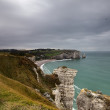 Cliffs at Etretat — Stock Photo