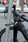 Замок для велосипеда — Стоковое фото