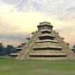 Maya pyramid - 3D render — Stock Photo #15798419