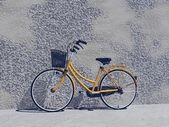Gloednieuwe stad fiets-3d render — Stockfoto