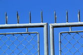 Close up of fence — Stock Photo