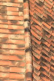 Tiles on a roof — Stock Photo