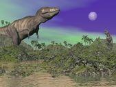 Tyrannosaurus - rendu 3d — Photo