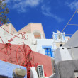 Architecture at Oia, Santorini, Greece — Stock Photo