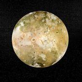 Io planet - 3D render — Stock Photo