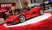 Ferrari Laferrari hybrid supercar — Stock Photo