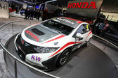 Honda Civic WTCC racecar — Stock Photo