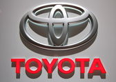 Toyota logo — Stock Photo