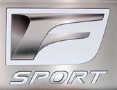 Lexus F Sport logo — Stock Photo