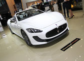 Maserati Grancabrio MC — Stock Photo
