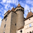 Old castle, Aigle, Vaud, Switzerland — Stock Photo