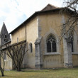 Stock Photo: Cloister church, Aigle, Vaud, Switzerland