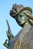 Statue of Elisabeth of Bavaria (Sissi), Geneva, Switzerland — Stock Photo