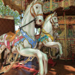 Carousel with horses — Stock Photo