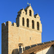 Stock Photo: Church of Saintes-Maries-de-la-mer, France