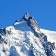 Stock Photo: Aiguille Du Midi, Alps, Chamonix, France