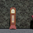 Waiting around the clock - 3D render — Stock Photo