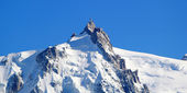 Aiguille Du Midi, Alps, Chamonix, France — Stock Photo