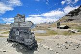 Top of Iseran pass, France — Stock Photo