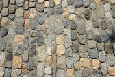 Old style cobble stones — Stock Photo